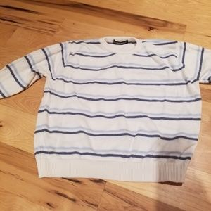 Brandy Melville Stripe Crop Sweater